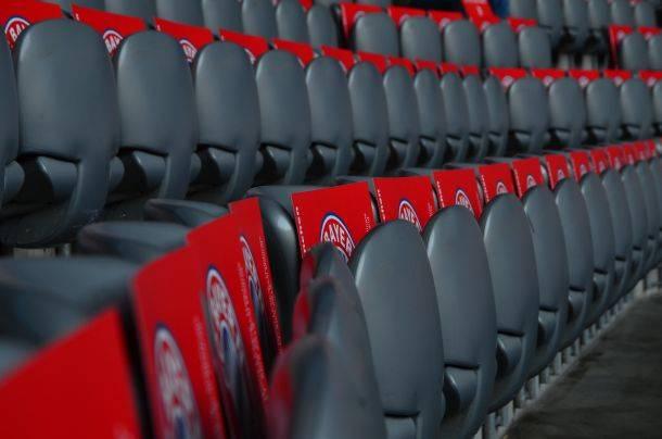 bequeme Sitzreihe Allianz Arena München