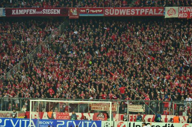 Bayern München Südkurve