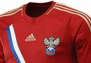 Russland Fussball Trikot EM 2012