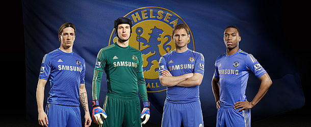 Chelsea FC London HeimTrikot 2012/13