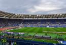 Schon vor Spielbeginn Lazio Rom v AS Rom ist Stadion gut besucht