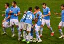 Lazio Jubel im Derby gegen AS Rom nach Führungstreffer