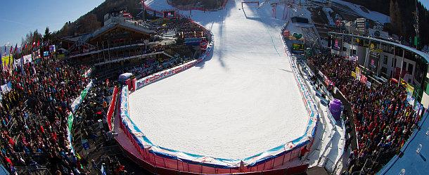 FIS Alpine Ski WM Schladming Zielbereich