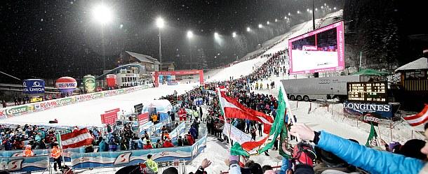 Fis Alpiner Ski Weltcup Nachtrennen - Flachau