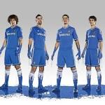 Chelsea FC – Heimtrikot und Auswärtstrikot 2013/2014