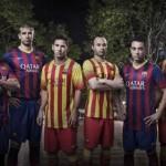 FC Barcelona – neues Heimtrikot und Auswärtstrikot 2013/2014