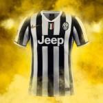 Juventus Turin – Heimtrikot und Auswärtstrikot 2013/2014