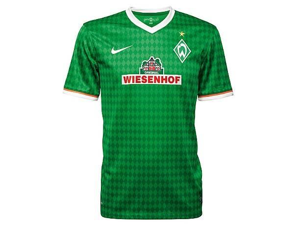 Werder Bremen – Heimtrikot und Auswärtstrikot 2013/2014