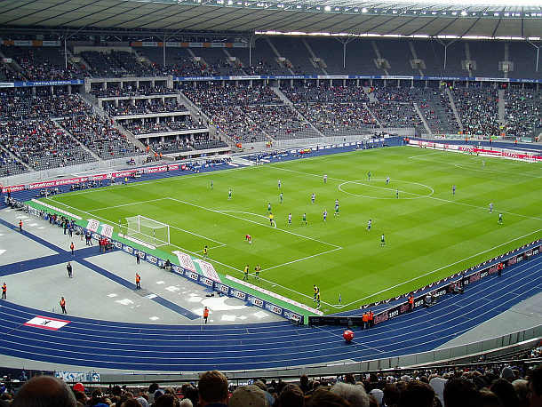 Hertha BSC Berlin - Bundesligaspiel Olympiastadion