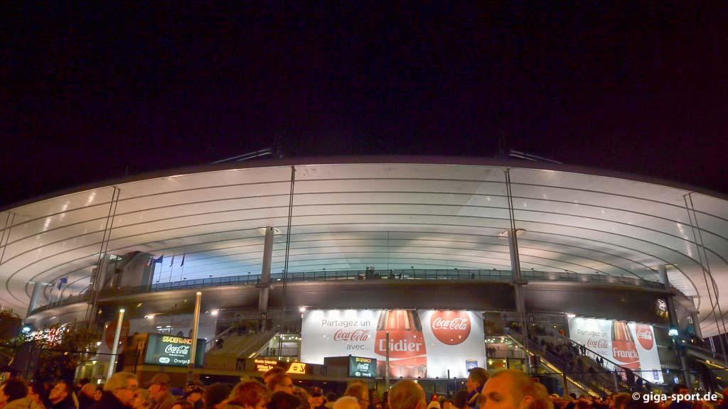 EM 2016 Frankreich - Stade de France Paris Saint Denis Outside