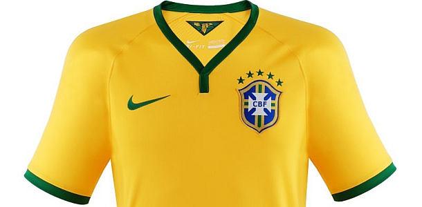 Brasilien Trikot Fussball WM 2014