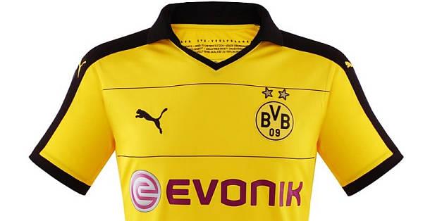 BVB Borussia Dortmund Home Trikot 2015-2016