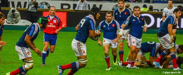 Frankreich Rugby Team