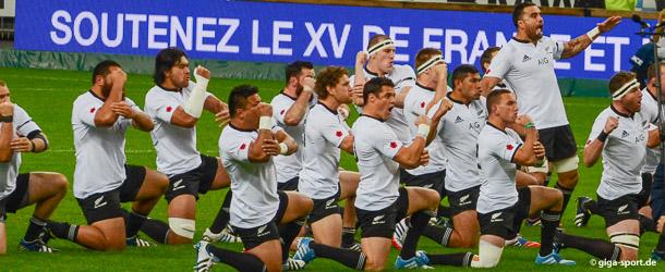 "Neuseeland ""All Blacks"" Rugby Team"